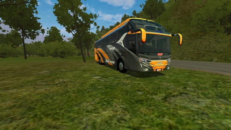 SR2_XHD Vehicle Mod for Bus Simulator Indonesia