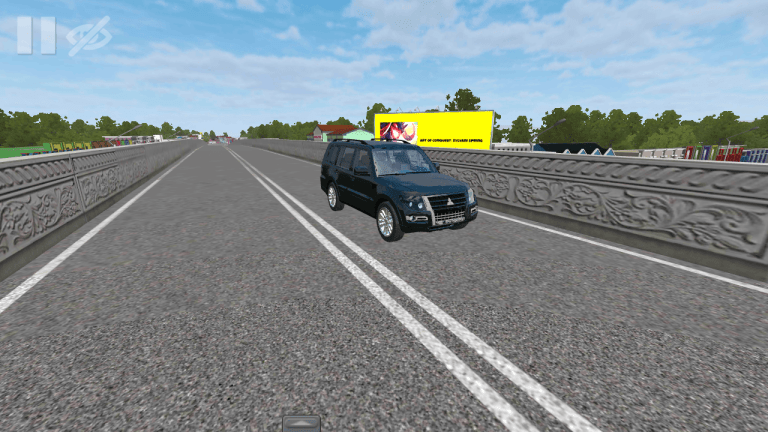 Pajero CVT Black Vehicle Mod for Bus Simulator Indonesia