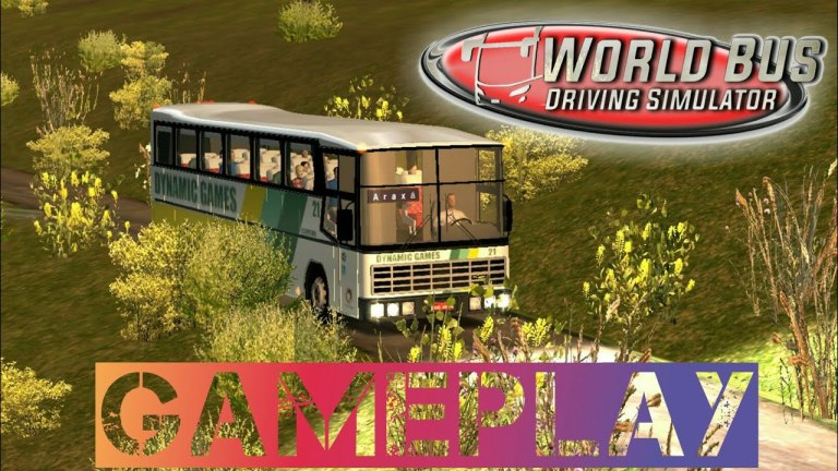 World Bus Driving Simulator Gameplay
