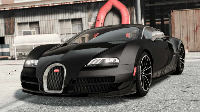 Bugatti Veyron Super Sport [Add-On & Manual animated spoiler]
