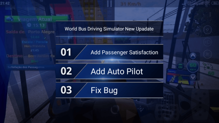 World Bus Driving Simulator New Upadate Release