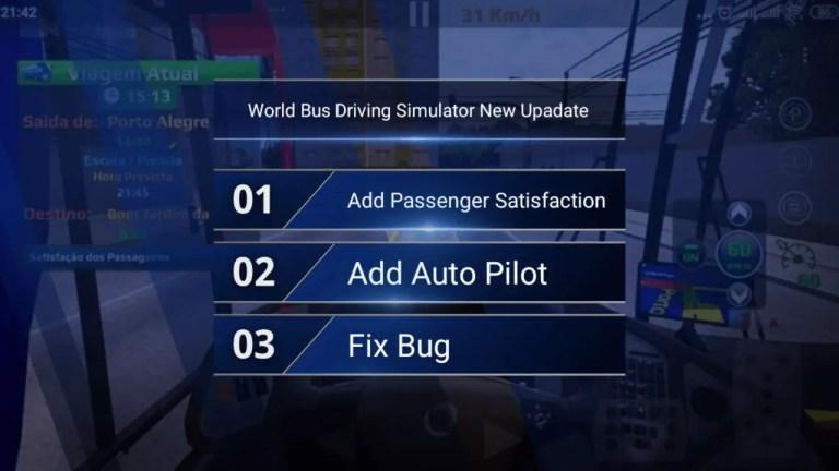 World Bus Driving Simulator New Upadate Release
