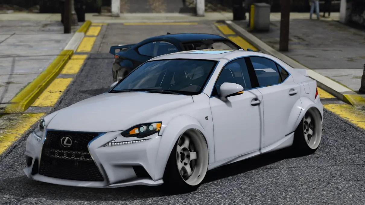 Download 2016 Lexus IS350 Widebody (ADD-ON) for GTA V, , Gaming News, Gaming Update, gta Mods, gta V, gta V Mods, Mod, SGCArena