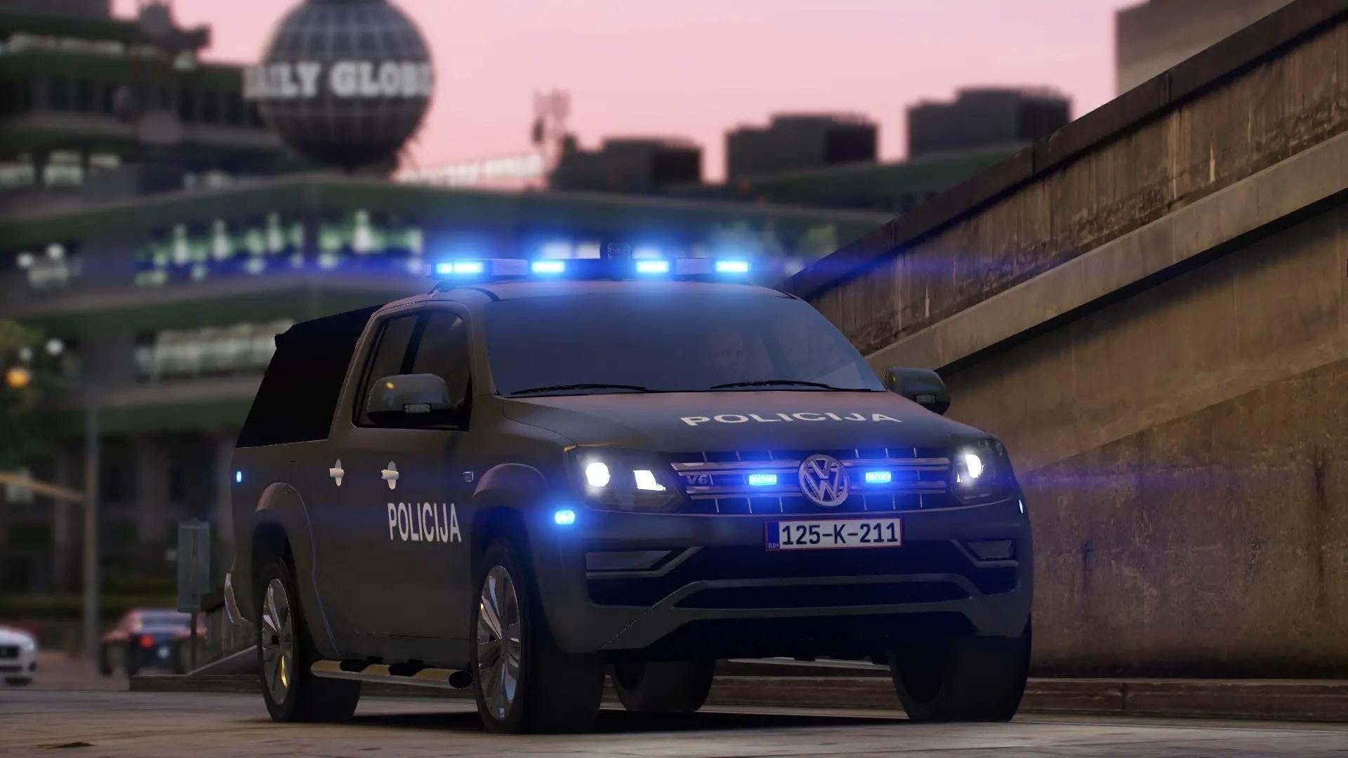 Download Volkswagen Amarok Police Mod for GTA V, , Gaming News, Gaming Update, gta Mods, gta V, gta V Mods, SGCArena