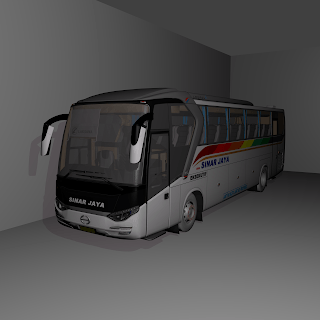 SR1 Bus Mod for Bus Simulator Indonesia