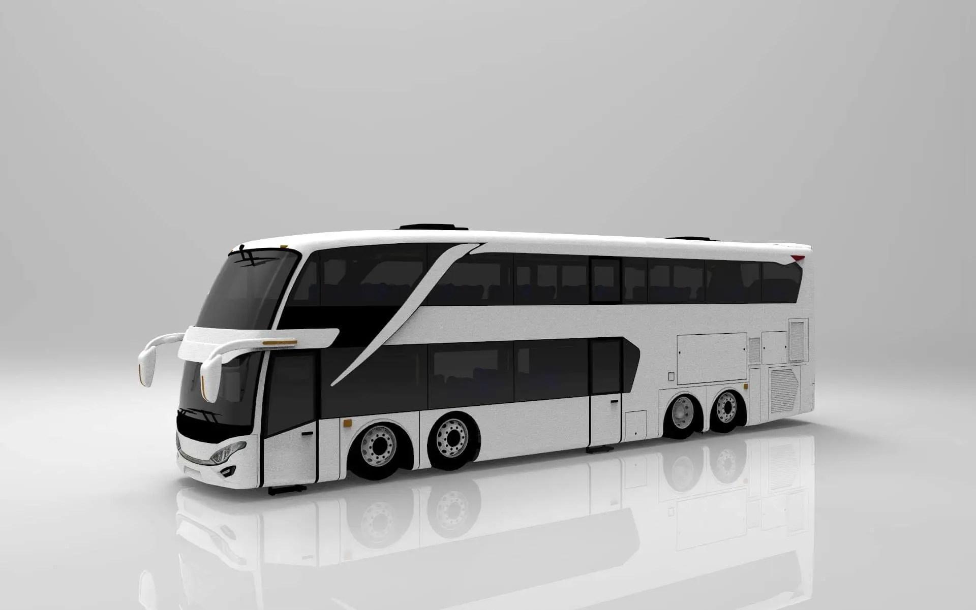 Download SDD V2 Bus Mod for Bus Simulator Indonesia, , Bus Mod, Bus Simulator Indonesia Mod, BUSSID mod, Gaming News, Gaming Update, Mod for BUSSID, SDD Bus Mod, SGCArena, Vehicle Mod