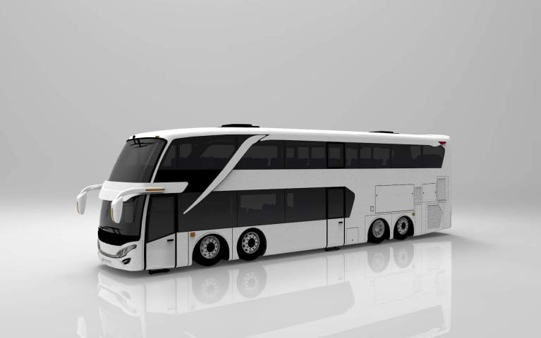 SDD V2 Bus Mod for Bus Simulator Indonesia
