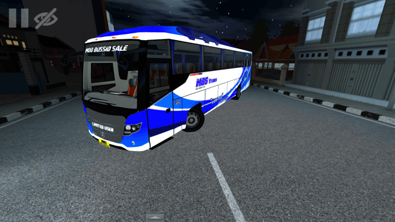 Scorpion King Bus Mod for Bus Simulator Indonesia