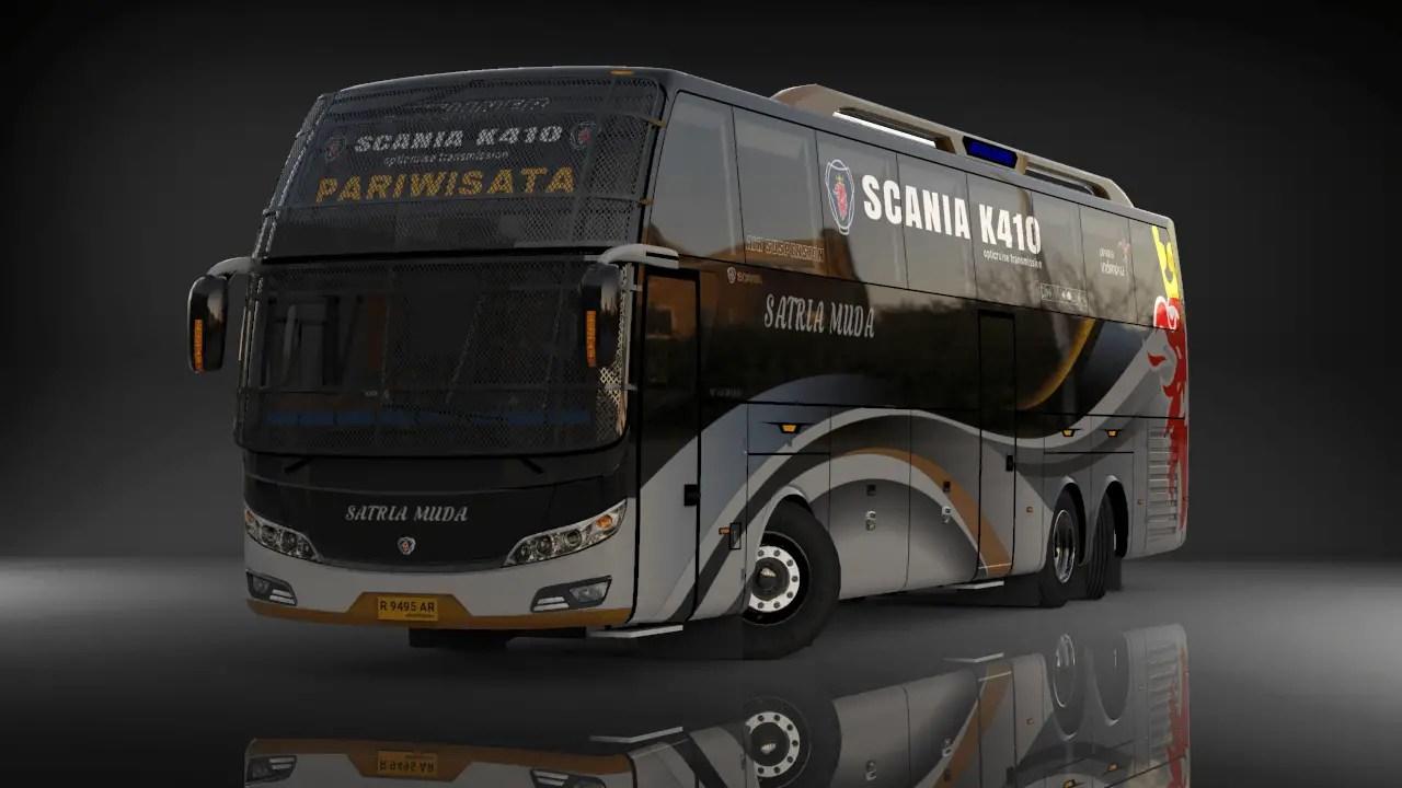 Download JETLINER SCANIA K410 Bus Mod for Bus Simulator Indonesia, JETLINER SCANIA K410 Bus Mod, BUSSID Bus Mod, BUSSID Vehicle Mod, WSPMods