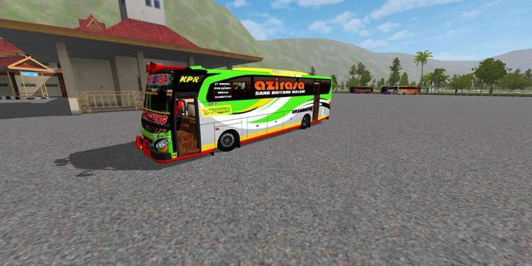 JBHD Bumel Bus Mod for Bus Simulator Indonesia