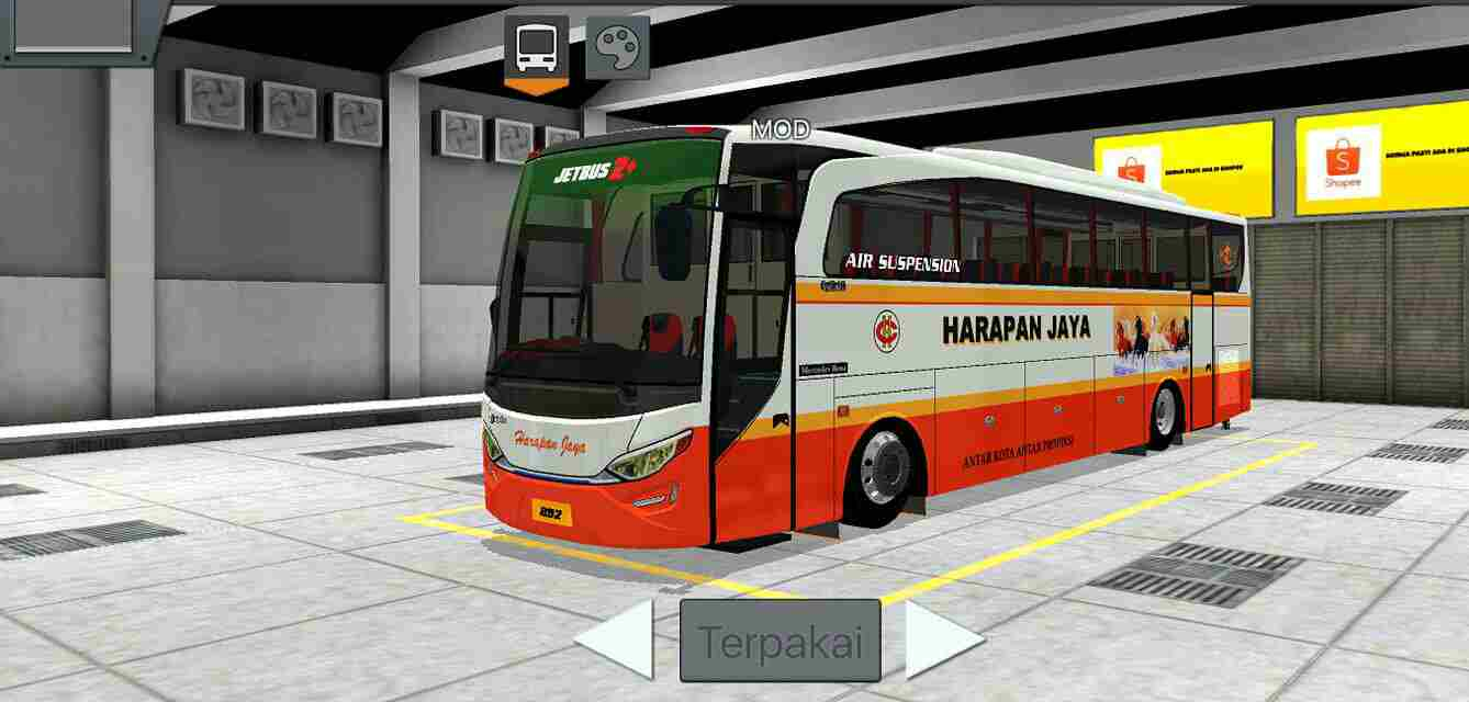 Download JetBus HD2 Mod for Bus Simulator Indonesia, JetBus HD2 Mod, Bus Mod, Bus Simulator Indonesia Mod, BUSSID mod, JetBus 2+ Bus Mod, JetBus HD Bus Mod, JetBus HD2 Bus Mod, SGCArena, Vehicle Mod, WSPMods