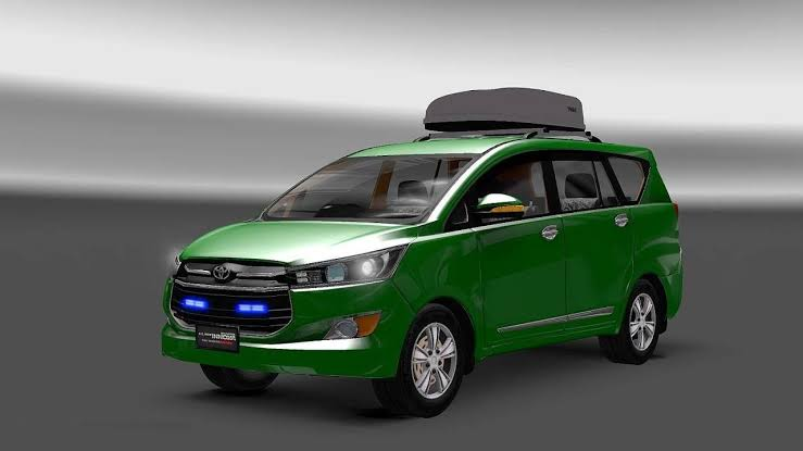 Toyota Innova Crysta Car Mod for Bus Simulator Indonesia