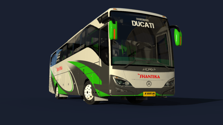 MPGT1 Bus Mod for Bus Simulator Indonesia