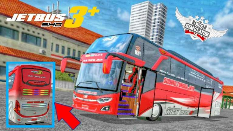 JetBus3+ SHD Mod for Bus Simulator Indonesia