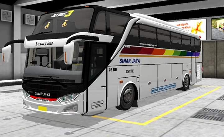 JB3 SHD Update Bus Mod for Bus Simulator Indonesia
