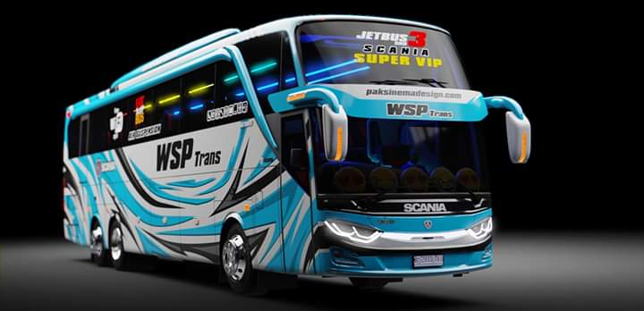 Update JB3 SHD Tronton Mod for Bus Simulator Indonesia
