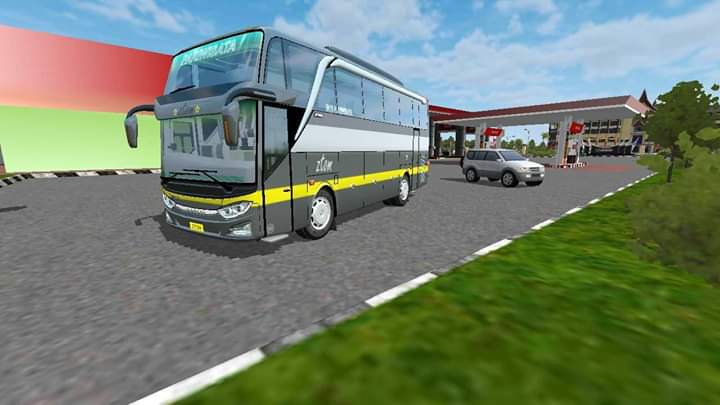 JB3 SHD Baby Bus Mod for Bus Simulator Indonesia
