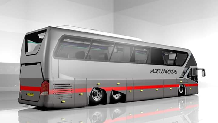 NEOPLAN STARLINER Bus Mod for Bus Simulator Indonesia
