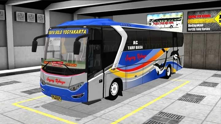 SKY SR1 Bus Mod for Bus Simulator Indonesia