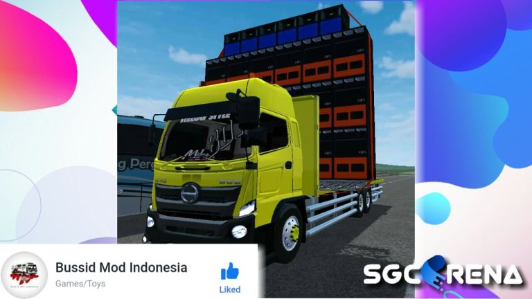 Hino 500 NG HSD Mod for Bus Simulator Indonesia