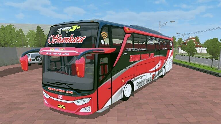 JETBUS3+ UPDATE MERCEDES-BENZ 0500R Mod for BUSSID