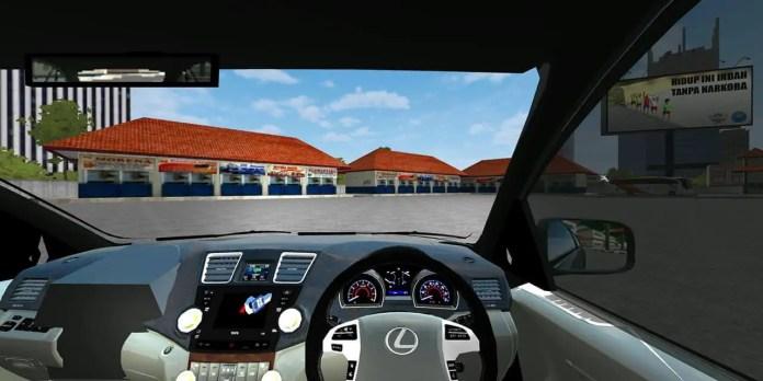 Lexus RX350 2009 Mod Dashboard