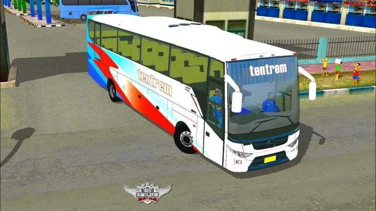 Max Tentrem Bus Mod for Bus Simulator Indonesia