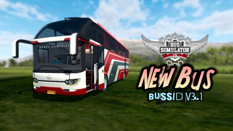 Srikandi SHD Bus for Bus Simulator Indonesia in BUSSID V3.1