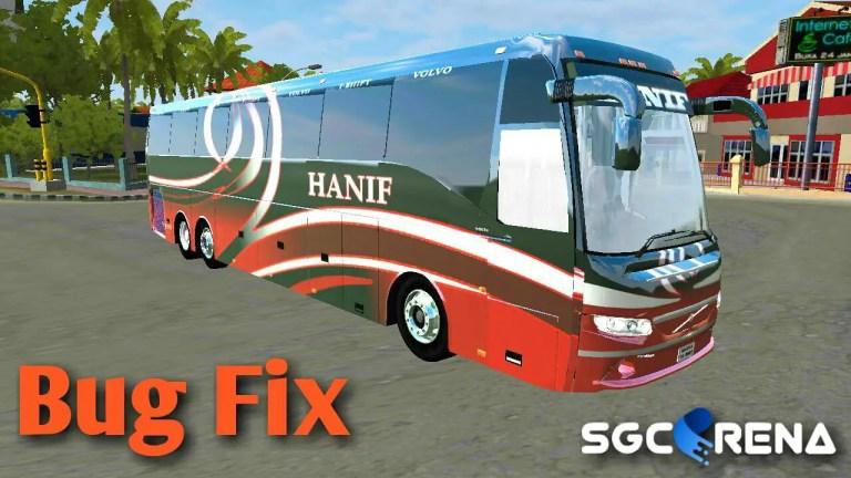 Volvo 9400 Bug Fix Mod for Bus Simulator Indonesia