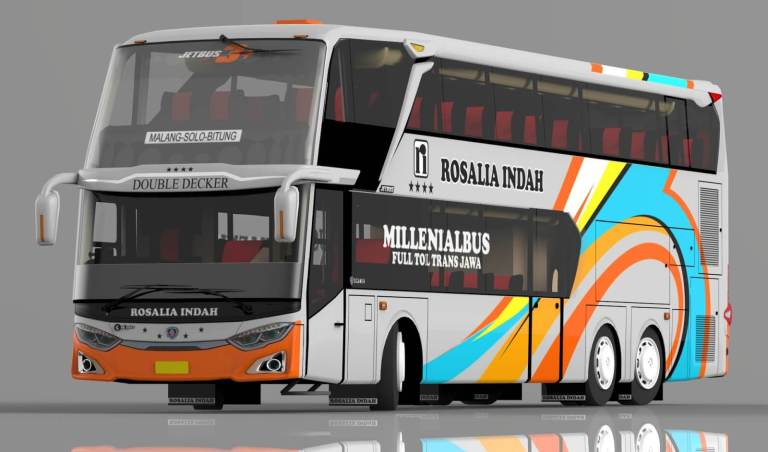 JetBus SDD 3+ Bus Mod for Bus Simulator Indonesia