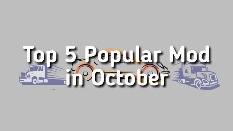 Top 5 Popular BUSSID Mod in October