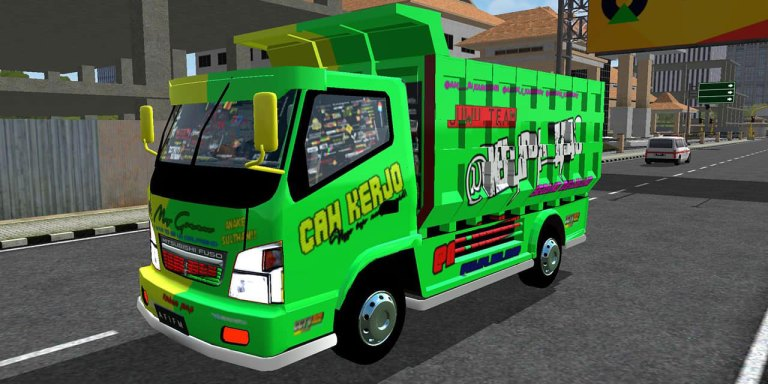 Mod Canter for Bus Simulator Indonesia