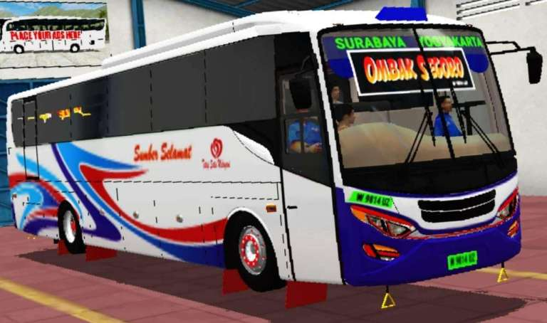 Discovery Bus Mod for BUS Simulator Indonesia