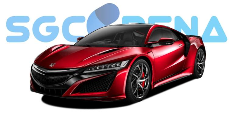 Honda NSX Car Mod for Bus Simulator Indonesia