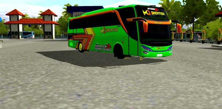 JETBUS 2+ HDD Bus Mod for Bus Simulator Indonesia