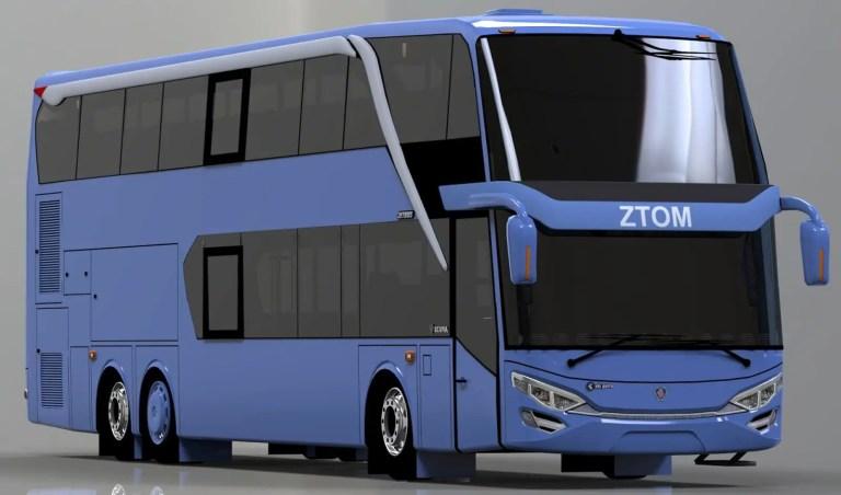 JetBus 2+ SDD Mod for Bus Simulator Indonesia