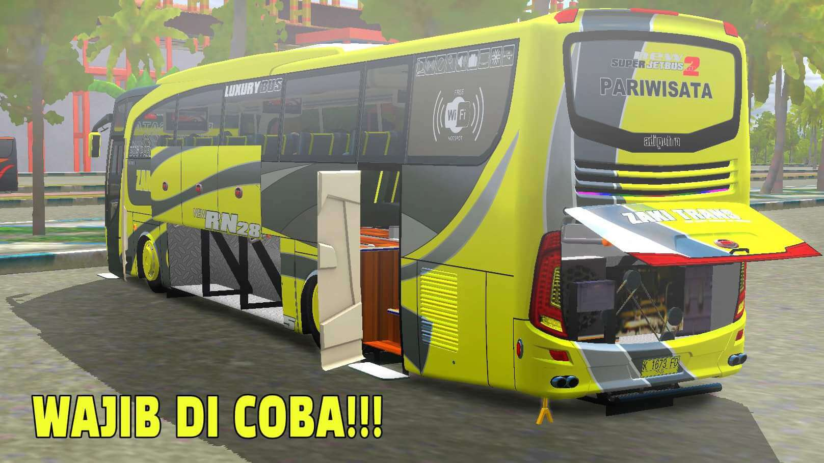 Download JetBus HD 2 Mod for Bus Simulator Indonesia, JetBus HD 2, ALDOVADEWA, Bus Simulator Indonesia Mod, BUSSID mod, JetBus HD 2, JetBus HD 2 Bus Mod, JetBus HD 2 Bus Mod for bussid, JetBus HD 2 Mod, JetBus HD 2 Mod for BUSSID, JetBus HD 2 Temple, SGCArena, ZTOM