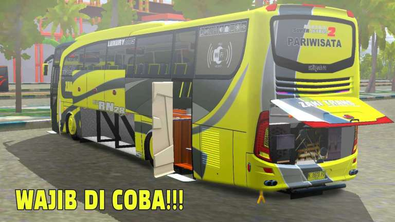 JetBus HD 2 Mod for Bus Simulator Indonesia