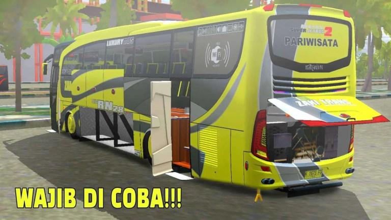JetBus HD 2 Mod for Bus Simulator Indonesia
