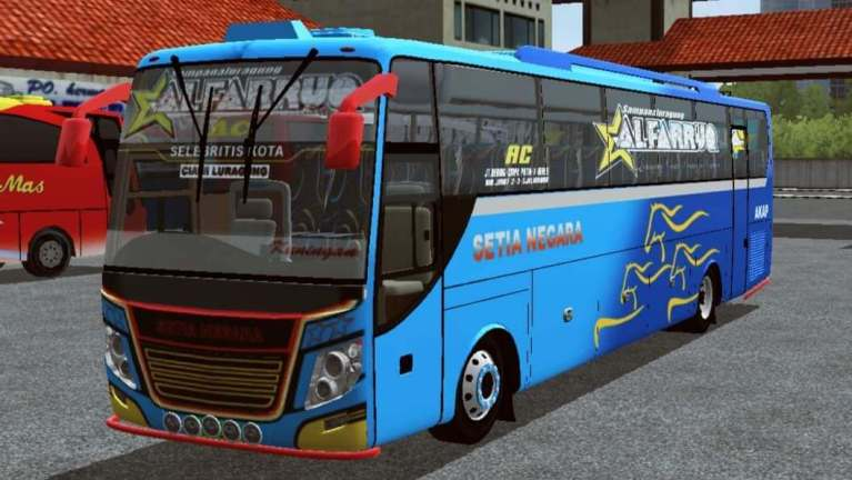 NUCLEUS Bus Mod for Bus Simulator Indonesia