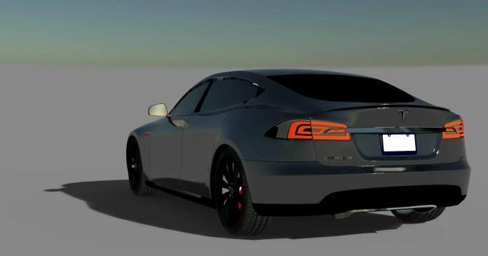 Tesla 2018 Car Mod,