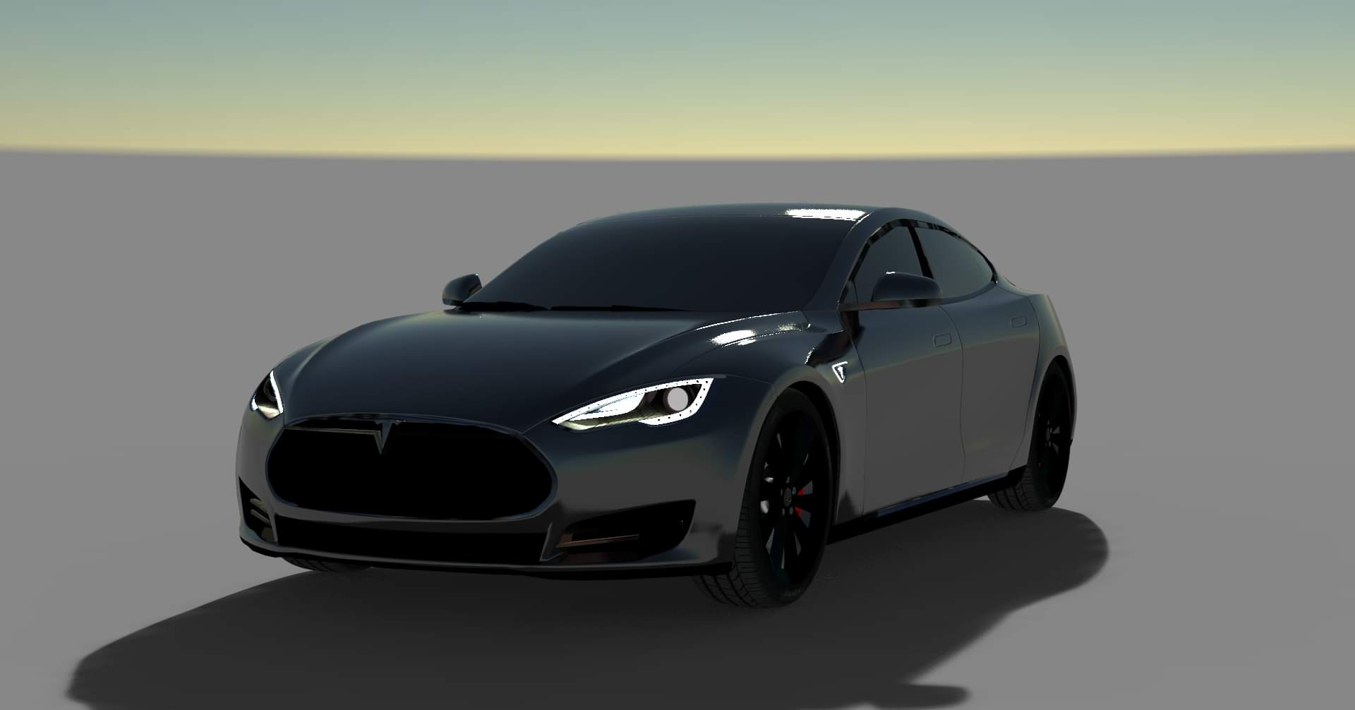 Tesla 2018 Car Mod