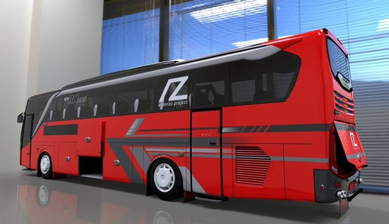 Update New Setra JB2+ Bus Mod for Bus Simulator Indonesia