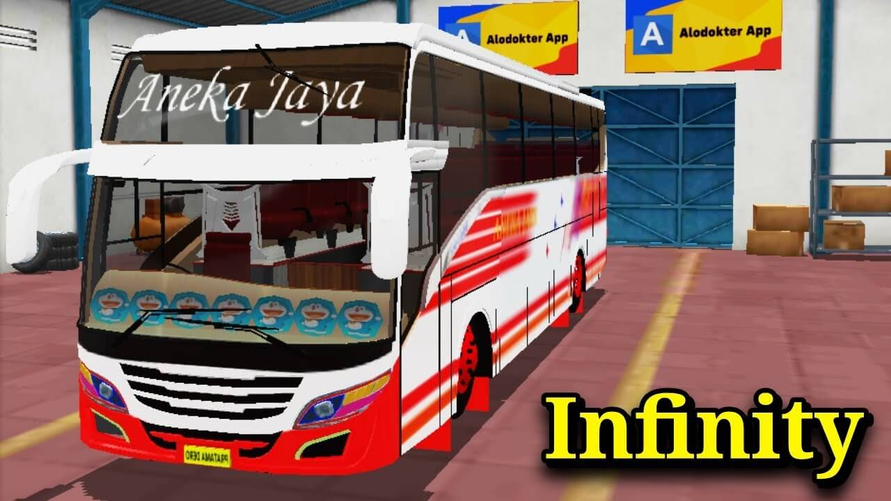 Infinity Bus Mod for BUSSID - SGCArena