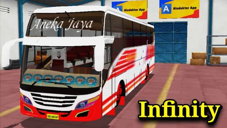 Infinity Bus Mod for Bus Simulator Indonesia
