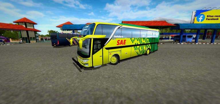 JB3 Bumel Bus Mod for Bus Simulator Indonesia