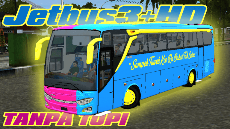 JETBUS3+ HD Bus Mod for Bus Simulator Indonesia