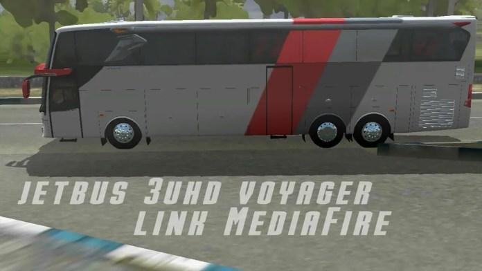 JetBus 3 UHD Voyager Mod for BUSSID - SGCArena