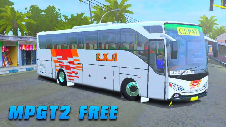 MPGT 2 Bus Mod for Bus Simulator Indonesia
