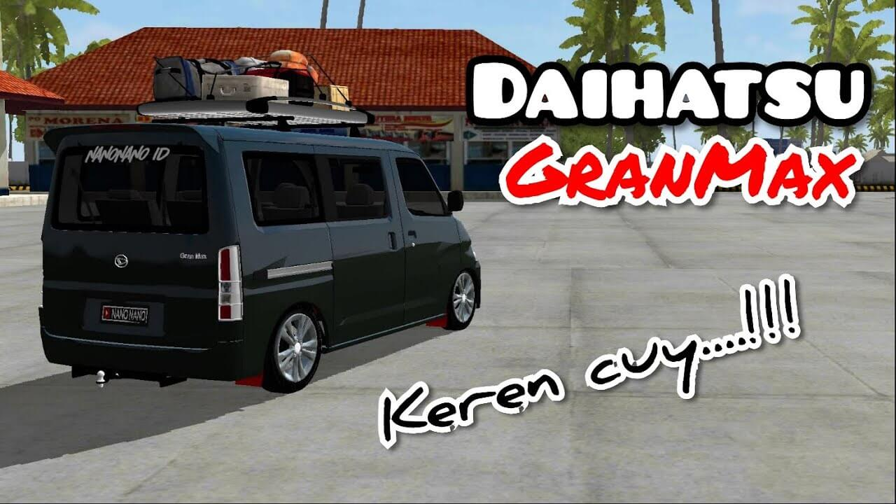 Gran Max Minibus Mod for BUSSID - SGCArena, BUSSID Mod, New Bus Mod,